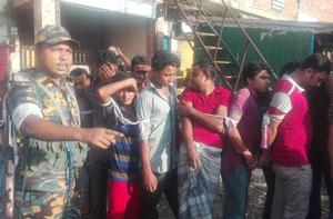 Image result for গাজীপুরে হোটেল থেকে ৪৭ নারী-পুরুষ আটক